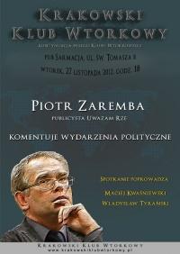 P. Zaremba komentuje